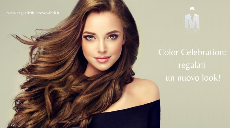 Color Celebration: festeggia i tuoi capelli!